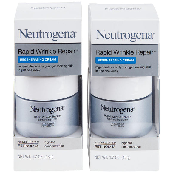 Neutrogena Rapid Wrinkle Repair Regenerating Cream (1.7 oz., 2 pk.)