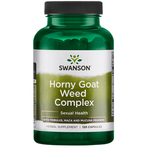 Swanson Horny Goat Weed Complex 120 Caps