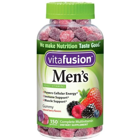 Vitafusion Men's Gummy Vitamins, 150ct