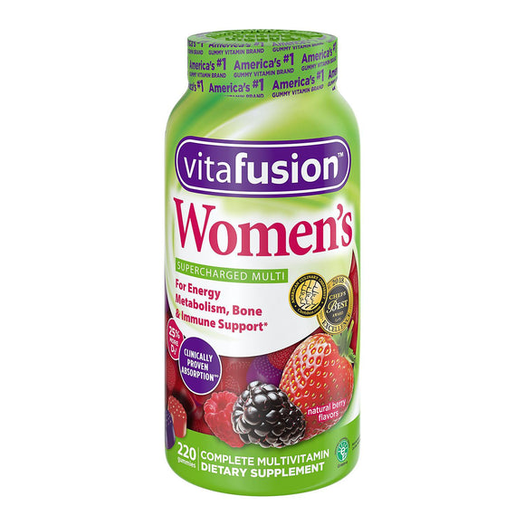 Vitafusion Women's Multivitamin Gummies (220 ct.)