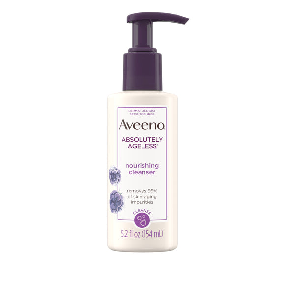 Aveeno Absolutely Ageless Nourishing Daily Facial Cleanser, 5.2 fl. oz