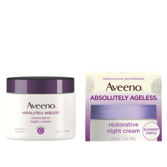 Aveeno Absolutely Ageless Restorative Night Face Cream, 1.7 fl. oz