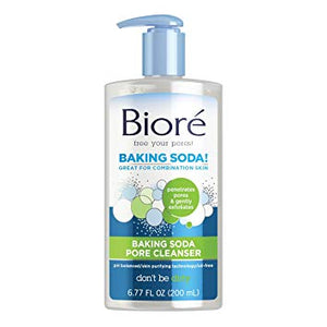 Biore Baking Soda Pore Cleanser for Combination Skin (6.77 oz)