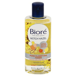 Biore Pore Clarifying Witch Hazel Toner - 8 fl oz