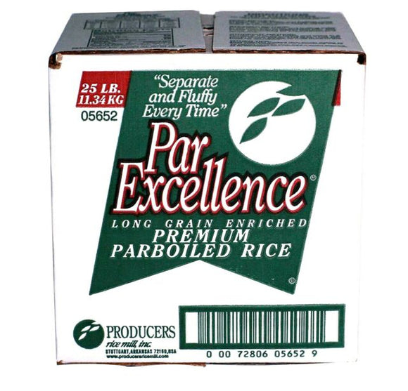 Par Excellence Premium Long Grain Rice, 25lbs/11.3kg - Cube