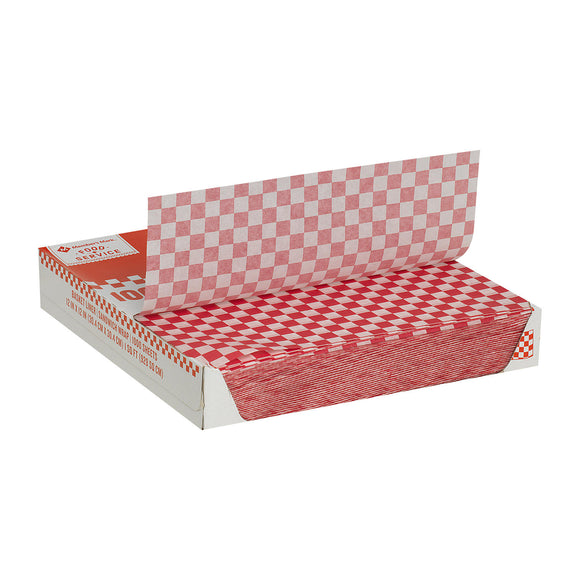 Member's Mark Red Checked Basket Liner Sheets (1,000 ct.)
