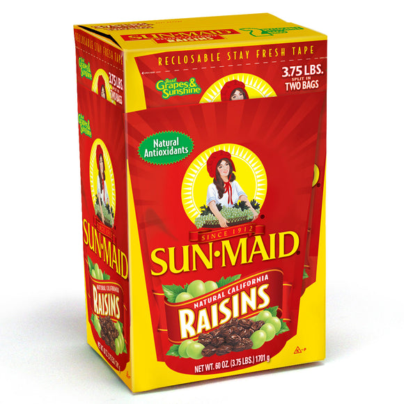 Sun-Maid Raisins (1.71kg., 2 ct.)