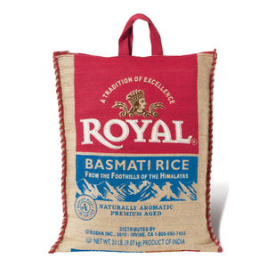 Royal Basmati Rice (9.07kg/20 lbs.)