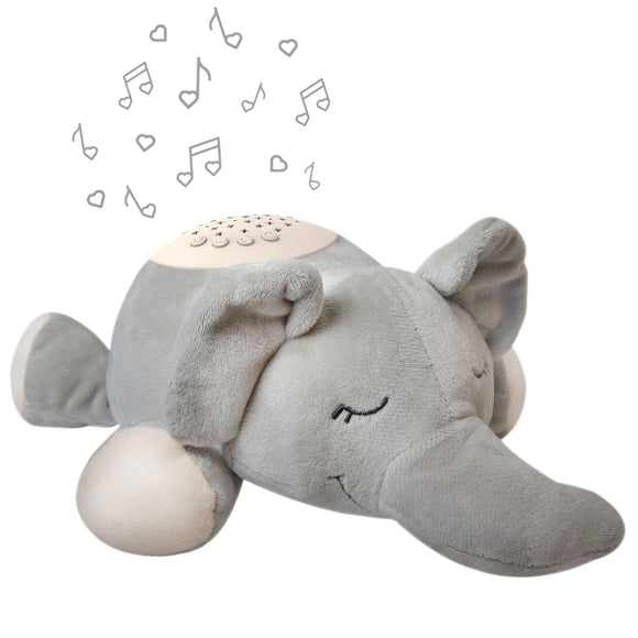 Pure Baby Sound Sleepers Sound Machine and Star Projector ,Elephant