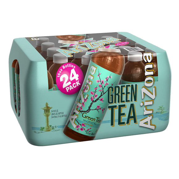 AriZona Green Tea with Ginseng and Honey (16oz / 24pk)