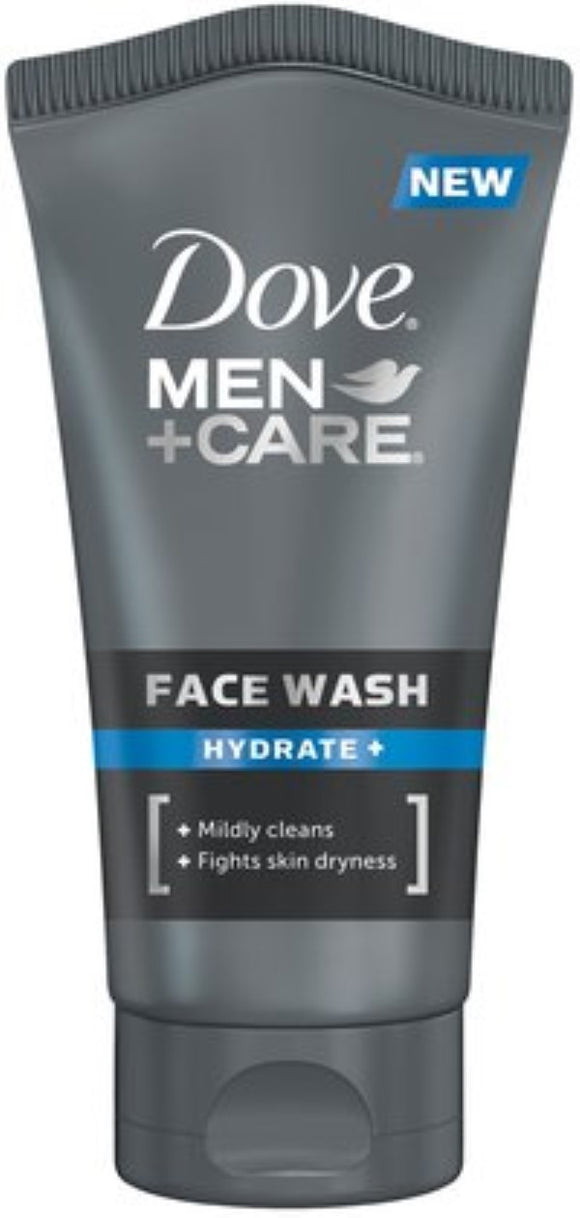Dove Men+Care Face Wash Hydrate Plus 5 oz