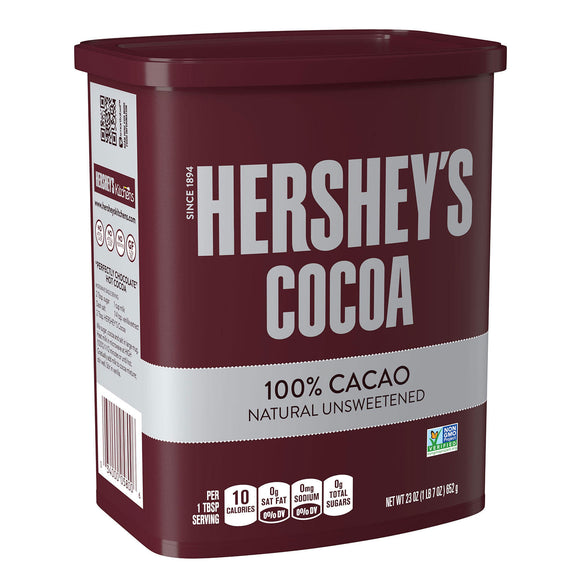 Hershey's Natural Unsweetened Cocoa, Chocolate (652g)