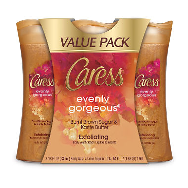 Caress Body Wash Value Pack, Daily Silk (18 fl. oz., 3 pk.)