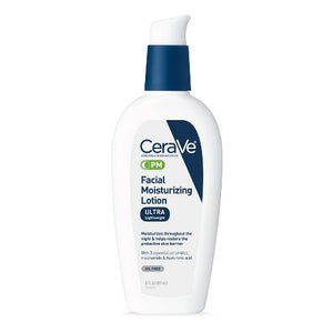 CeraVe PM Lotion, Face Moisturizer for Night Use, 3oz