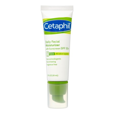 Cetaphil Daily Face Moisturizer, 1.7 fl oz, SPF 50+ (All Skin Types)