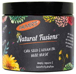 Palmer's Natural Fusions Chia Seed & Argan Oil Hair Mask/ 9.5 oz.