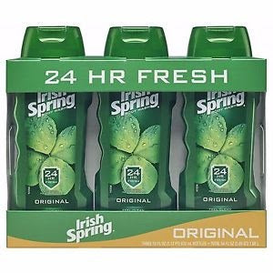 Irish Spring Body Wash for Men, Original - 18 oz 3 pack