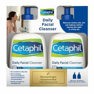 Cetaphil Daily Facial Cleanser 2pack- 473ml