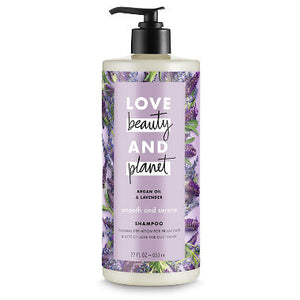 Love Beauty and Planet Smooth & Serene Shampoo, Argan Oil & Lavender (22 fl. oz.)