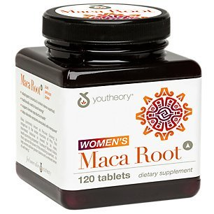 YouTheory Women's Maca Root 1000 MG 120 Tablets