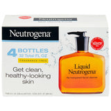 Liquid Neutrogena Fragrance-Free Facial Cleanser (8 fl. oz., 4 pk.)