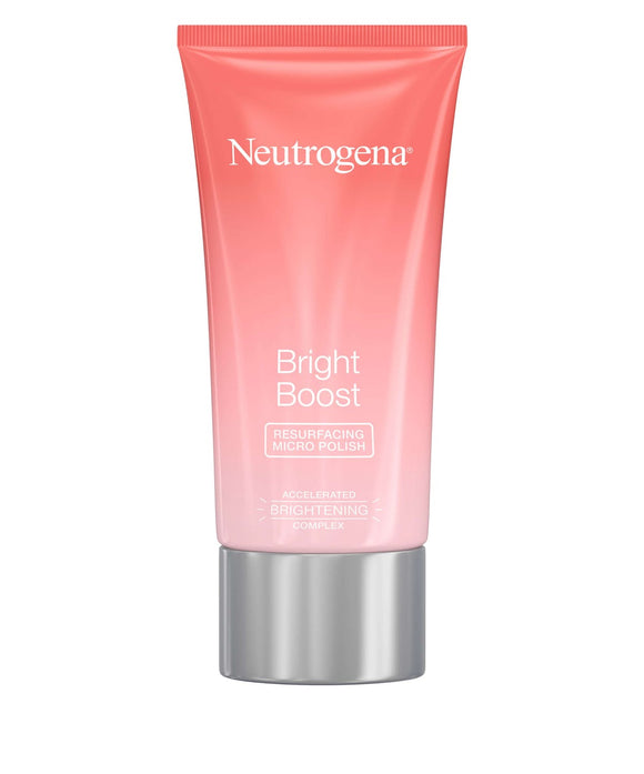 Neutrogena Bright Boost™ Resurfacing Micro Face Polish with Glycolic and Mandelic AHAs, 2.6 oz