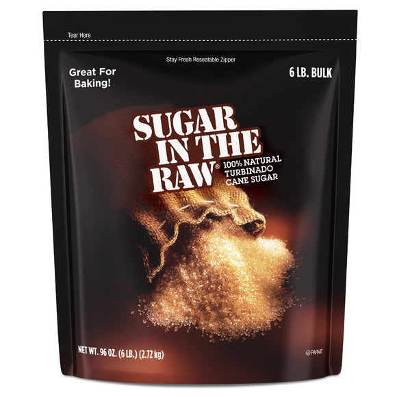 Sugar in the Raw Natural Cane Turbinado Sugar (6 lbs./2.72kg)