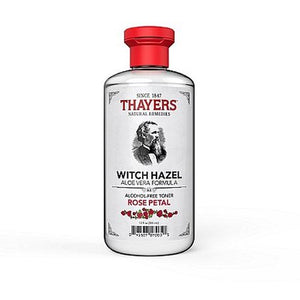 Thayers Witch Hazel Aloe Vera Toner, Rose Petal, 12 fl oz