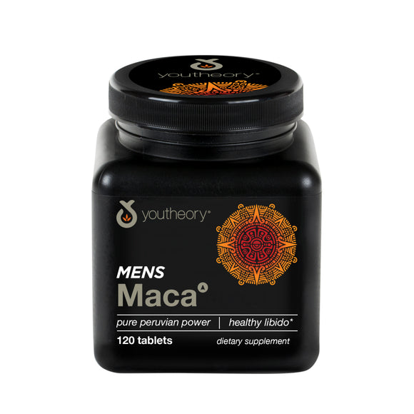 Youtheory Men's Maca Advanced 120 count (1 bottle)