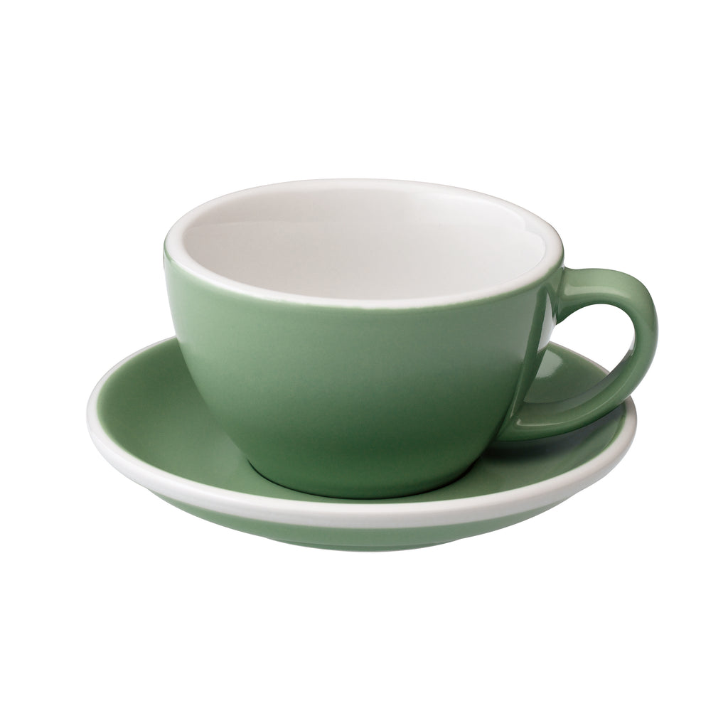 Egg 300ml Latte Cup & Saucer Set