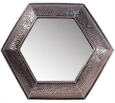 Snakeskin Metal Mirror