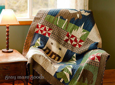 Mountain Cabin Throw Blanket