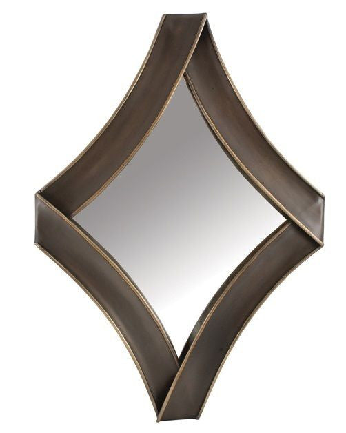 Diamond Metal Mirror