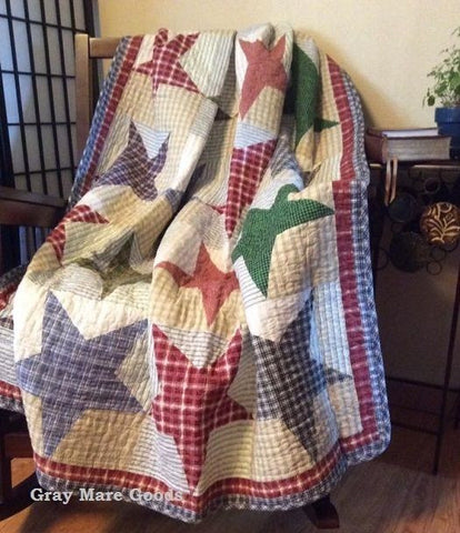 Texas Star Throw Blanket