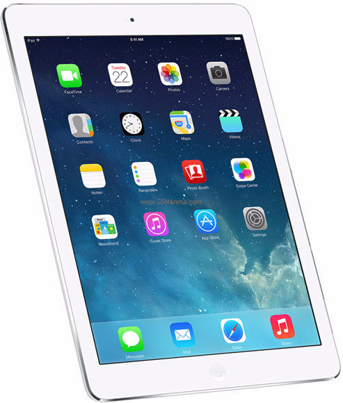 Apple iPad Air - Touch Screen - White