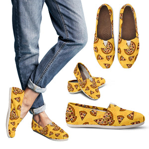 Pizza Pattern Women's Casual Shoes