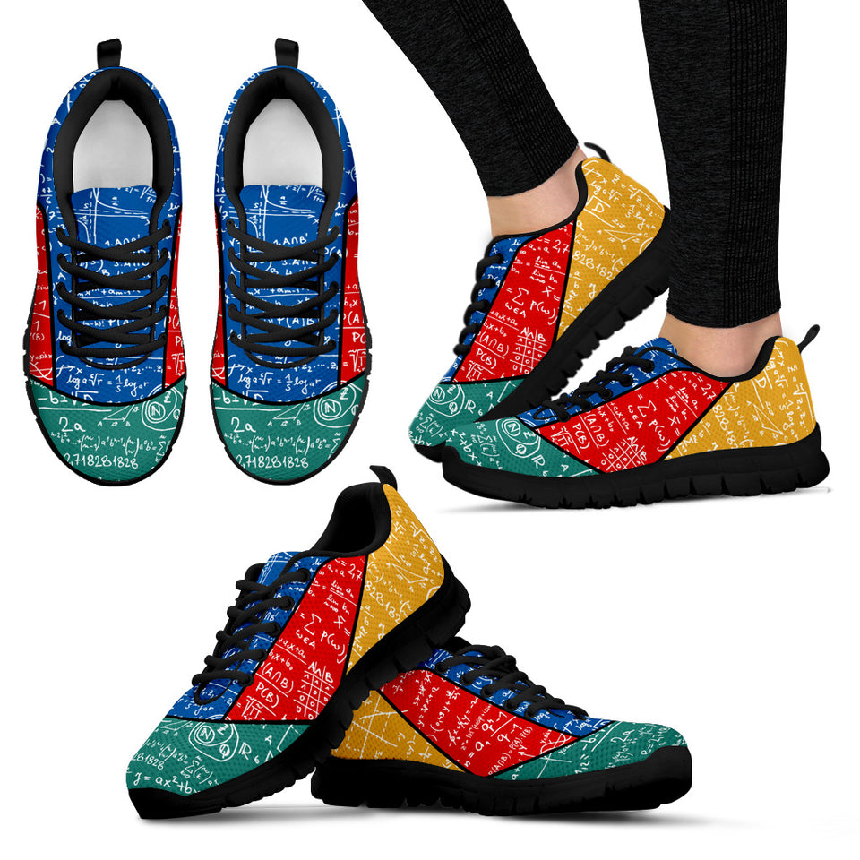 Mathematics Coloring Sneakers