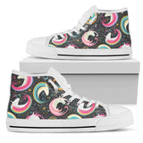 Rainbow Moon Magic Unicorns High Top Shoes