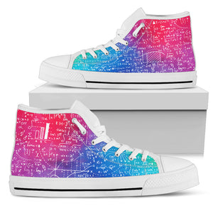 Mathematics High Top Shoes