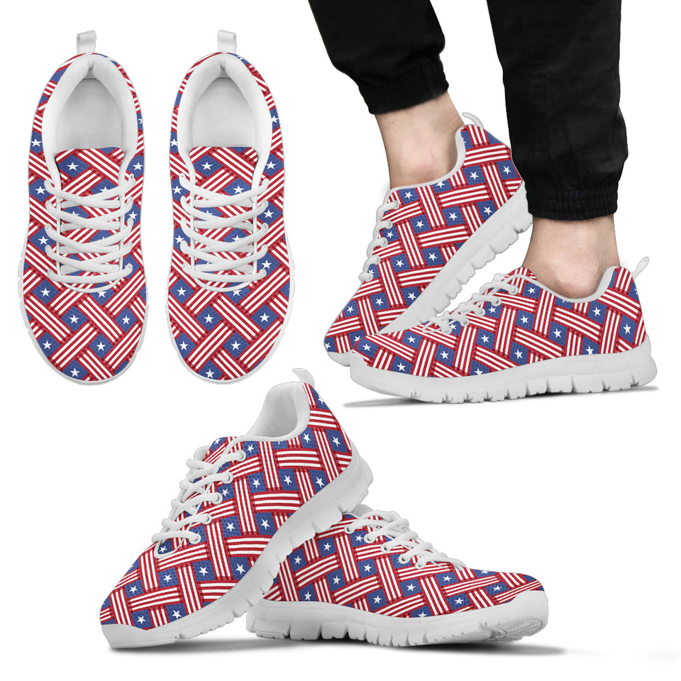 American Flag Unique Sneakers