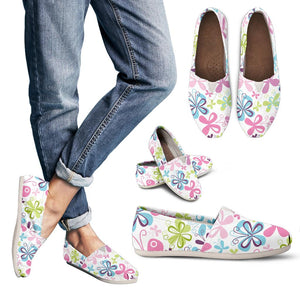 Butterfly Colorful Women's Casual Shoes