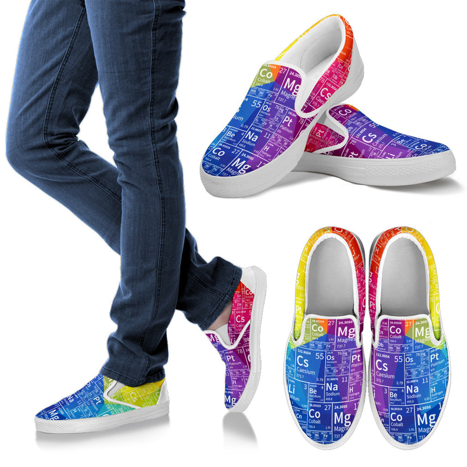 Periodic Colorful Slip Ons