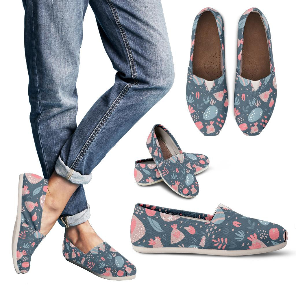 Spring Easter Chicken Women's Casual Shoes