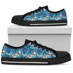 Flying Butterfly Wings Low Top Shoes