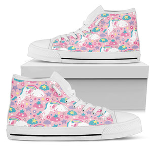 Magical Unicorn High Top Shoes