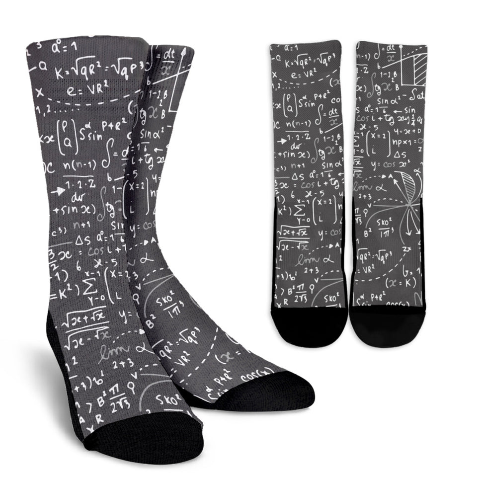 Math Crew Socks