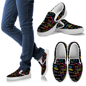 Math Color Slip Ons
