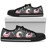 Rainbow Moon Magic Unicorns Low Top Shoes