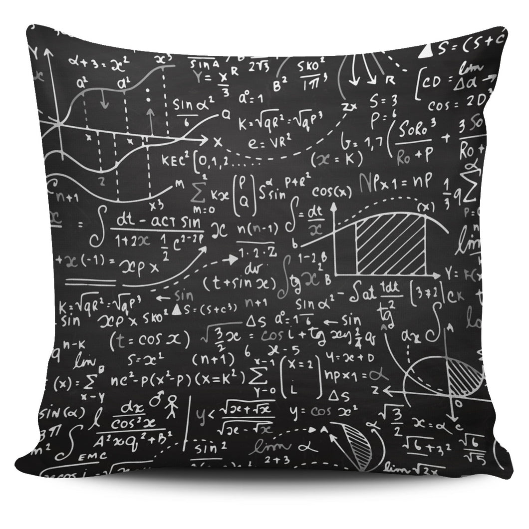 Math Chemistry Pillow Cover