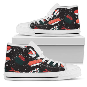 Sushi Black High Top Shoes